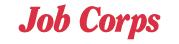 job corps text logo